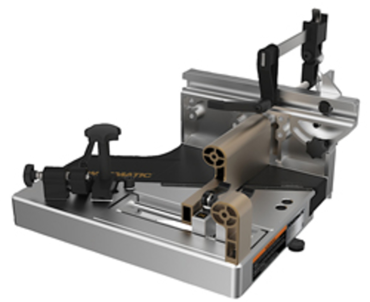 Powermatic's tenoning jig.