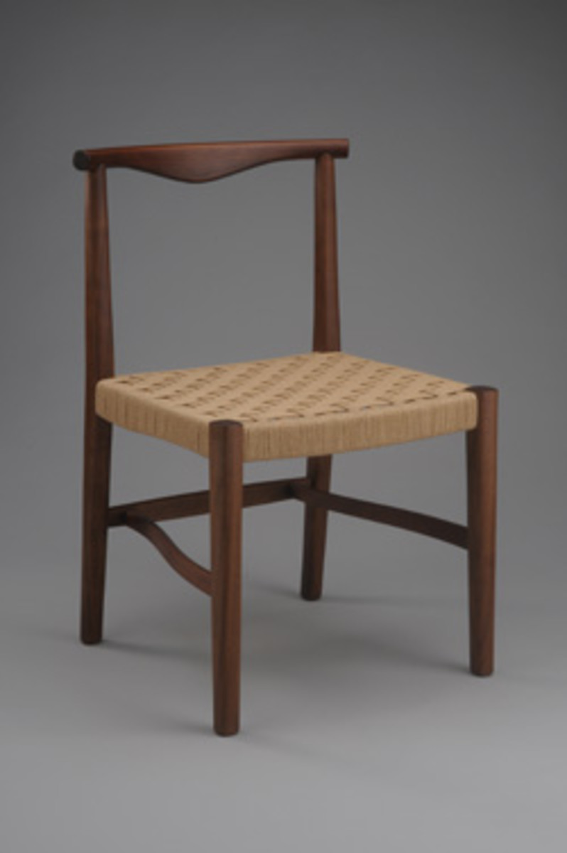 Chair by Dave Masury of Kittery Point, Maine.