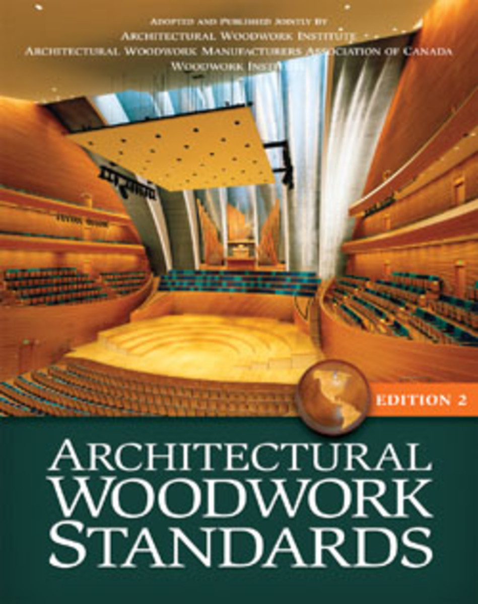 The AWI's Architectural Woodwork Standards Edition Two is designed to help create bidding equality in the industry.