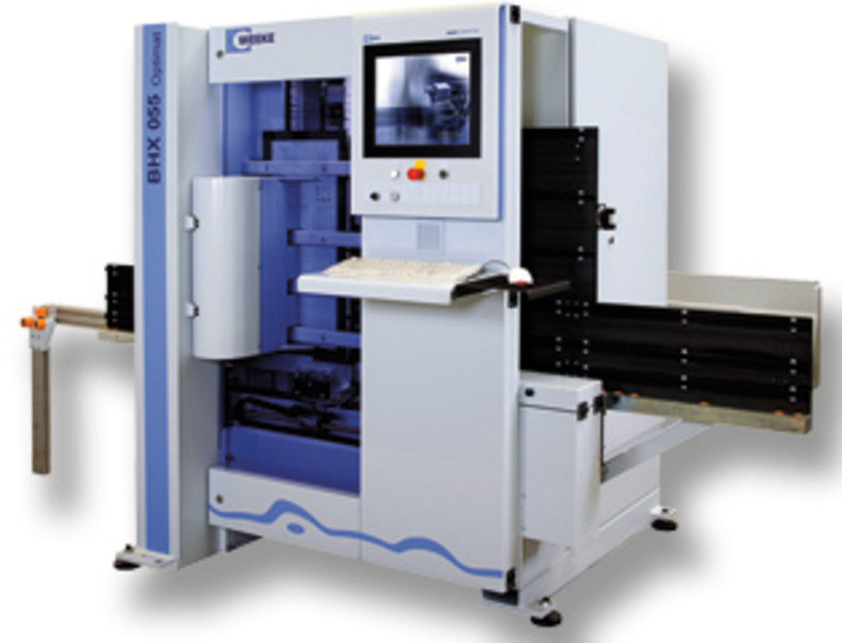 The Weeke BHX 055 CNC machining center significantly increases flexibility and productitvity, according to the company.