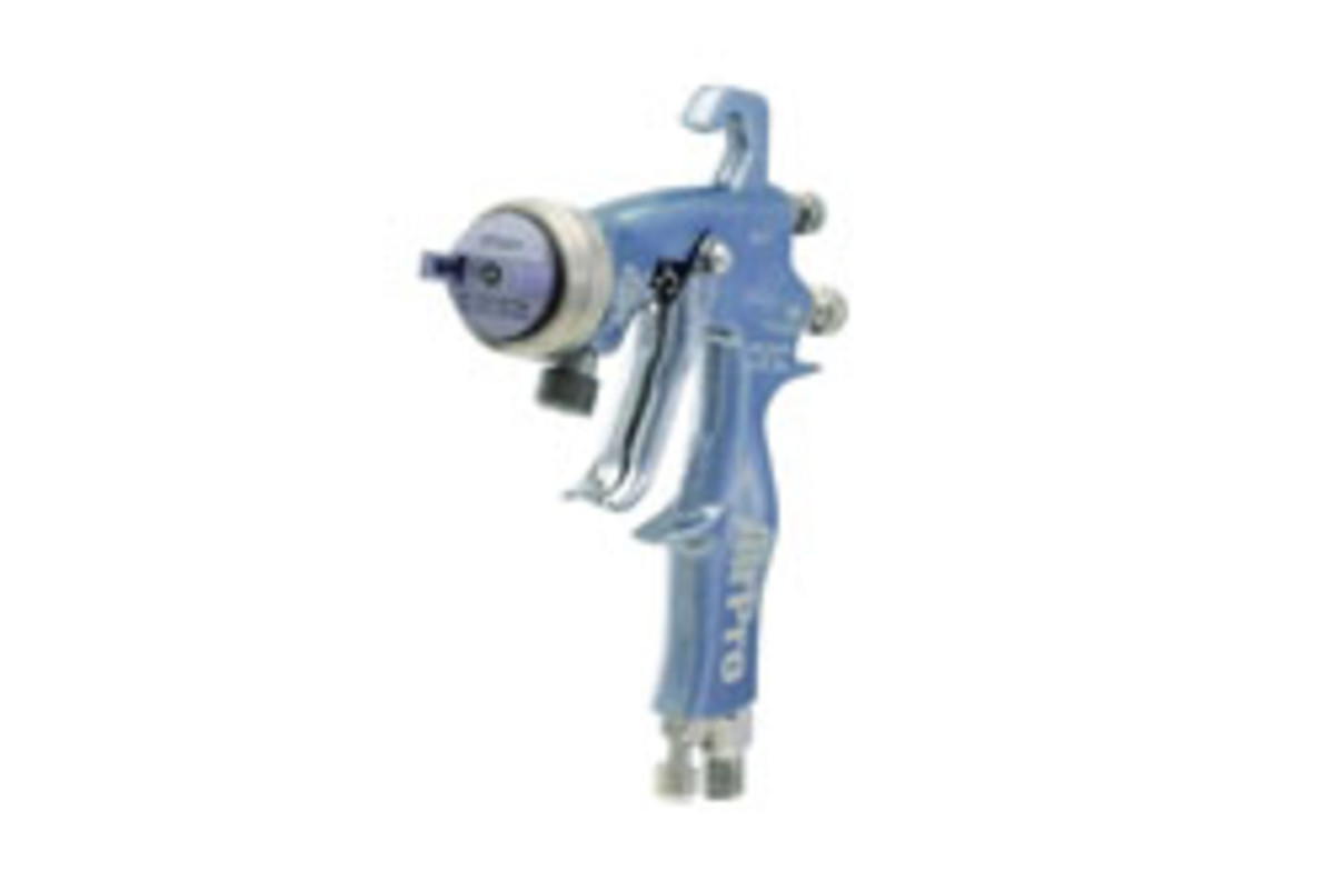 Graco's AirPro and nozzle.