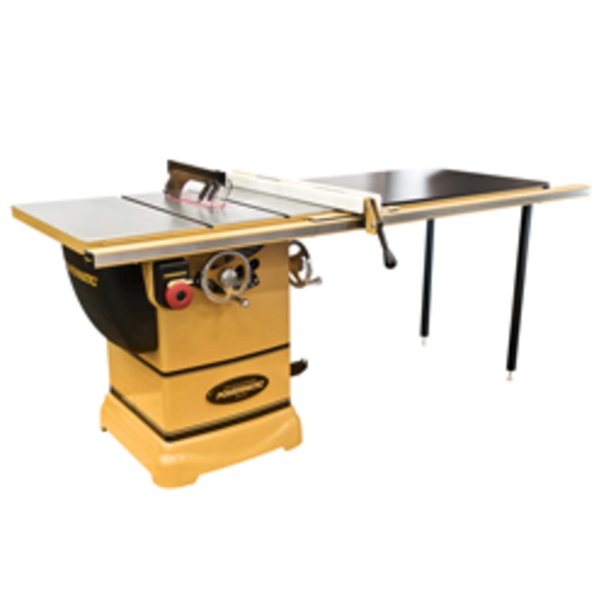 Powermatic's PM1000 table saw.