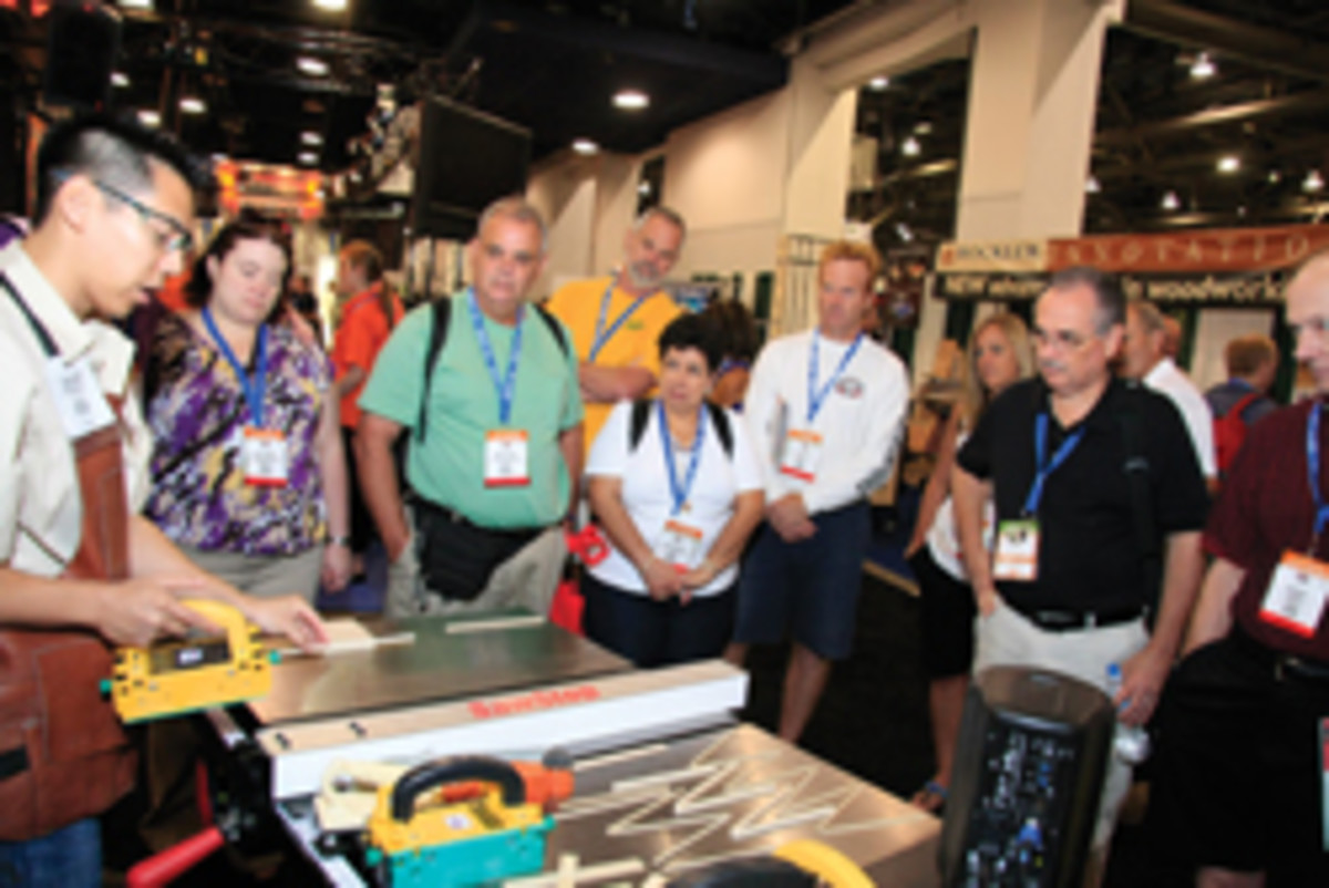 With nearly 600 exhibitors, attendees had plenty to see.