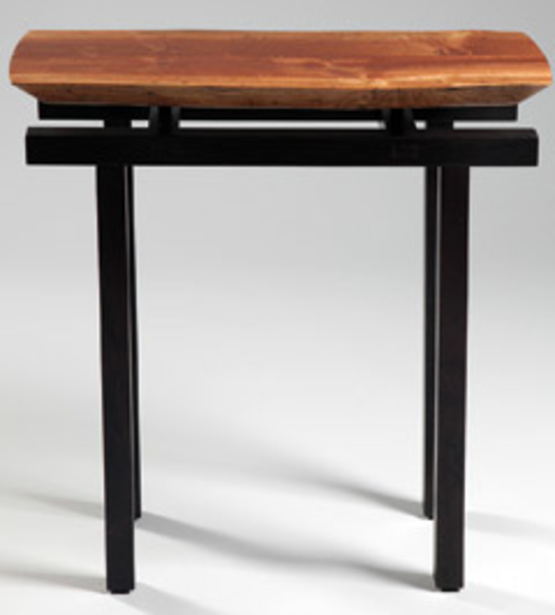 This table by Gary Leake of Coupeville, Wash., will be featured in the Whidbey Island Woodworker Guild's upcoming exhibit.