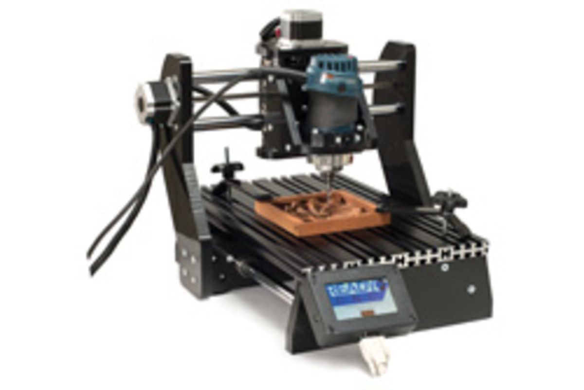 Options in the desktop CNC market include the Piranha from Next Wave Automation.