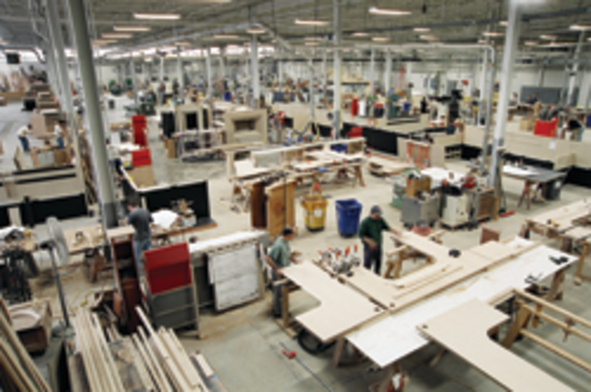 Mark Richey Woodworking has 80 employees working in a 130,000-square-foot facility in Newburyport, Mass.