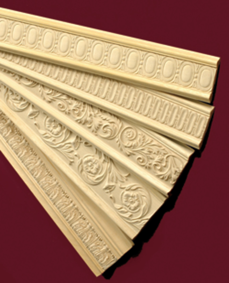 Wood Plus decorative moldings from Outwater.