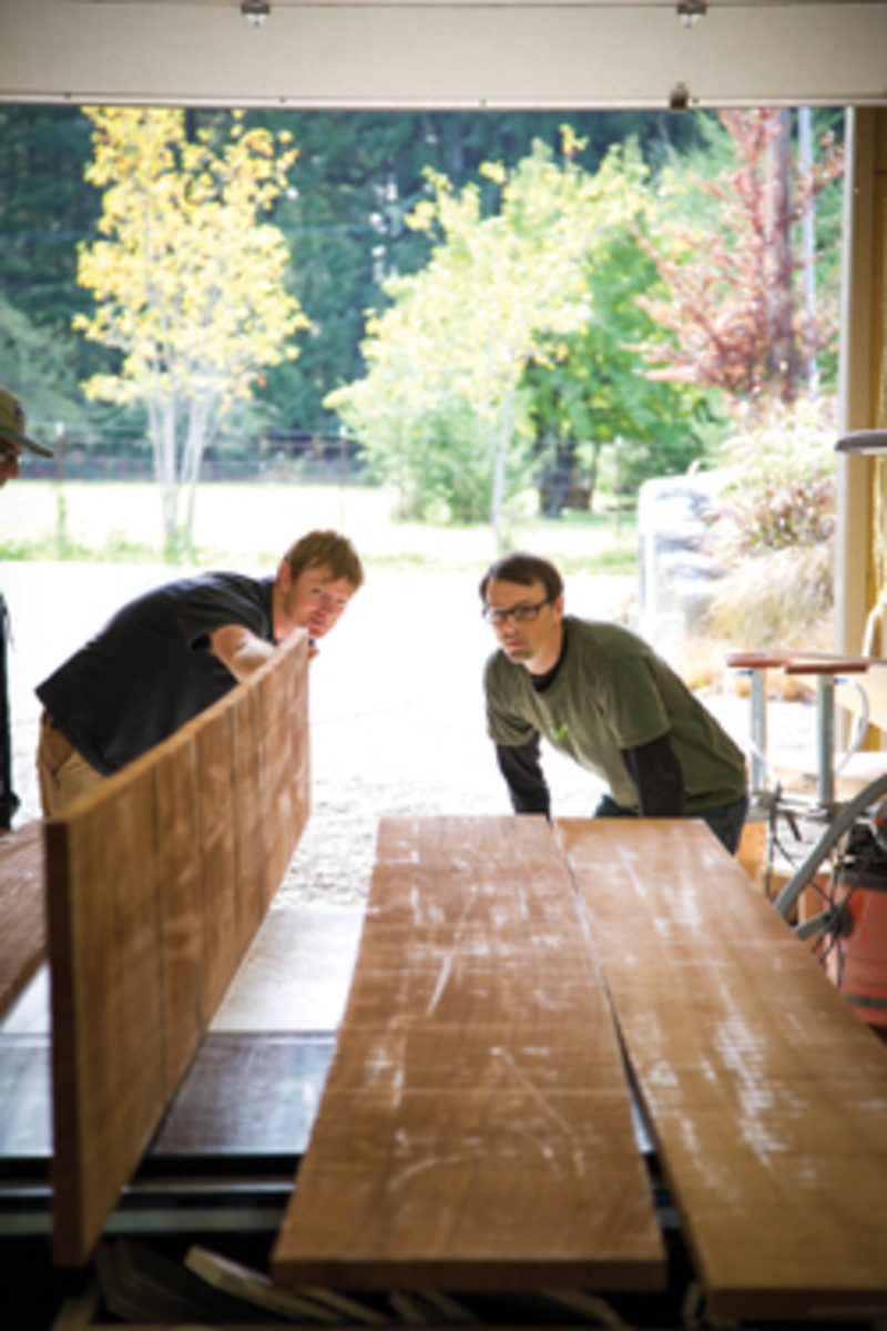 Be prepared to pay for surfacing and other sawmill services.