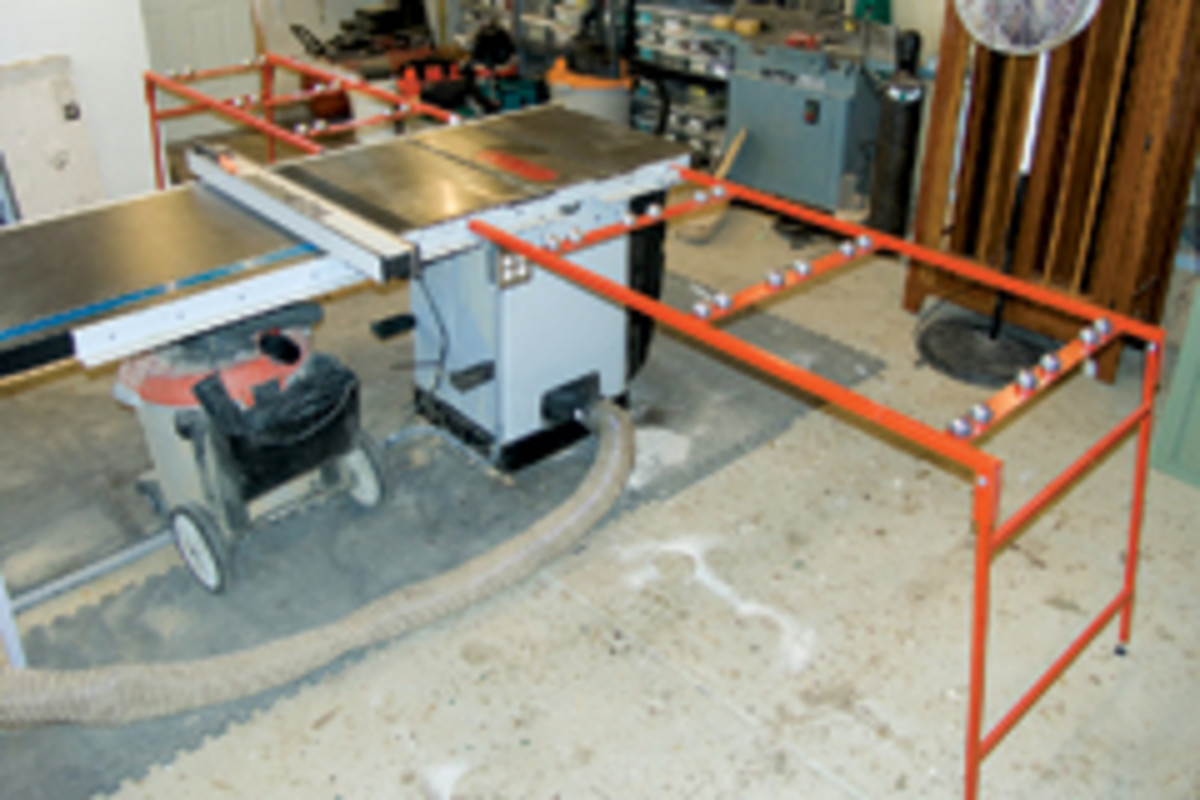 Ezee Feed Tables Simplifies Panel Cuts Woodshop News