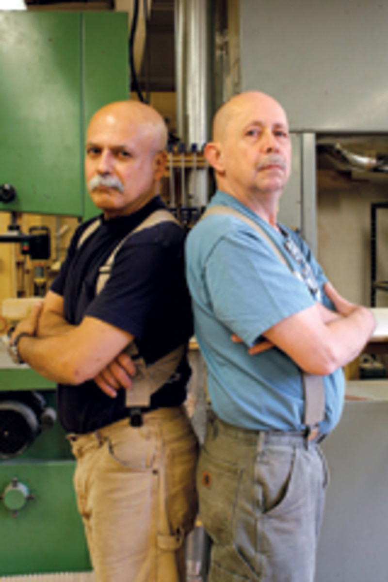 At the Philadelphia Furniture Workshop, instructors Mario Rodriguez and Alan Turner left a lasting impression on students, helping them to discover their own individual talents.