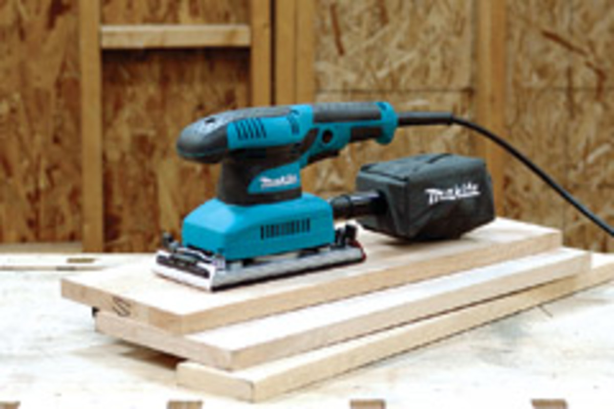 Makita's finishing sander