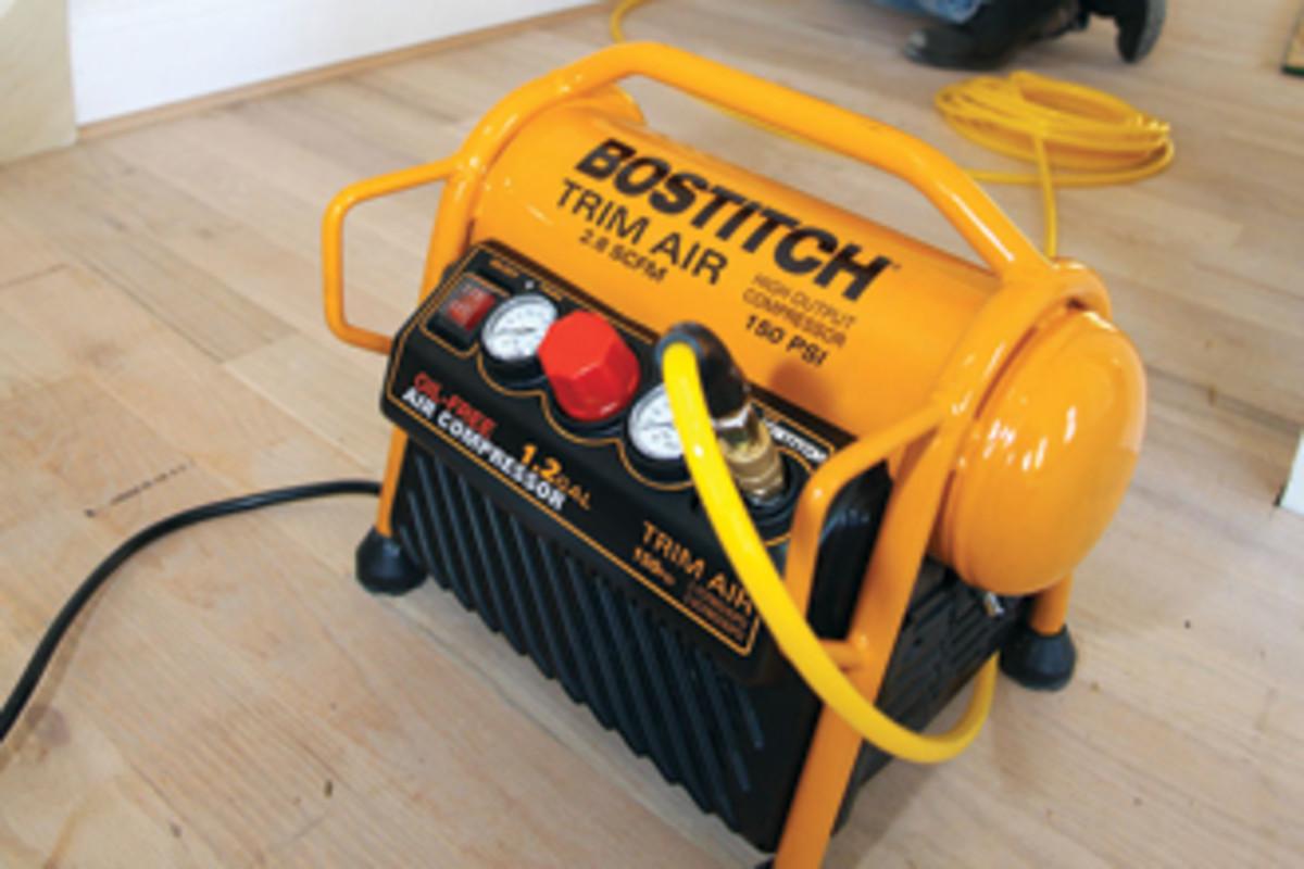 The NexGen Trim Air compressor from Bostitch.