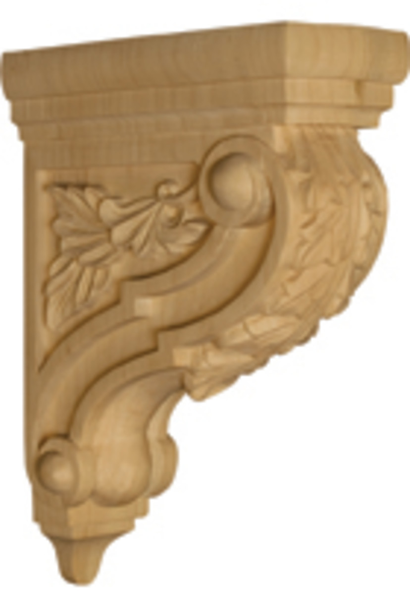Osborne Wood Products has seen a boost in demand for corbels and other decorative items.