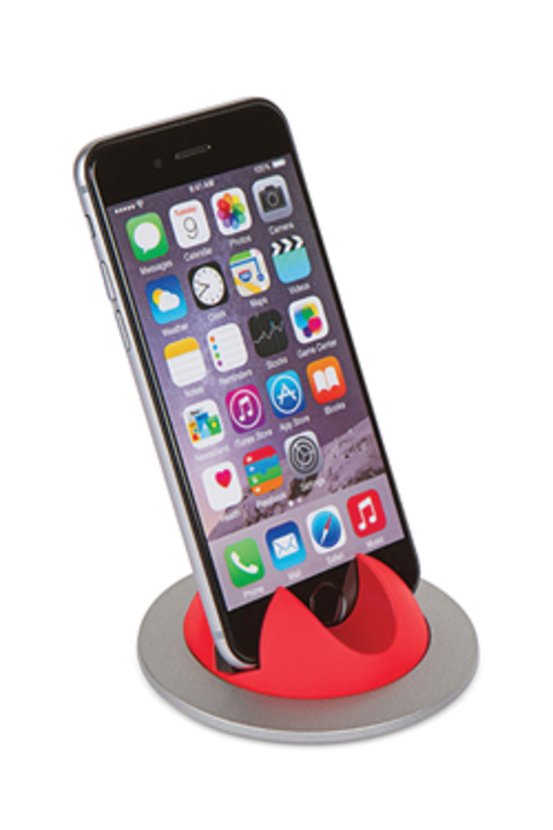 Doug Mockett & Co. offers an inductive charging grommet for cell phones.