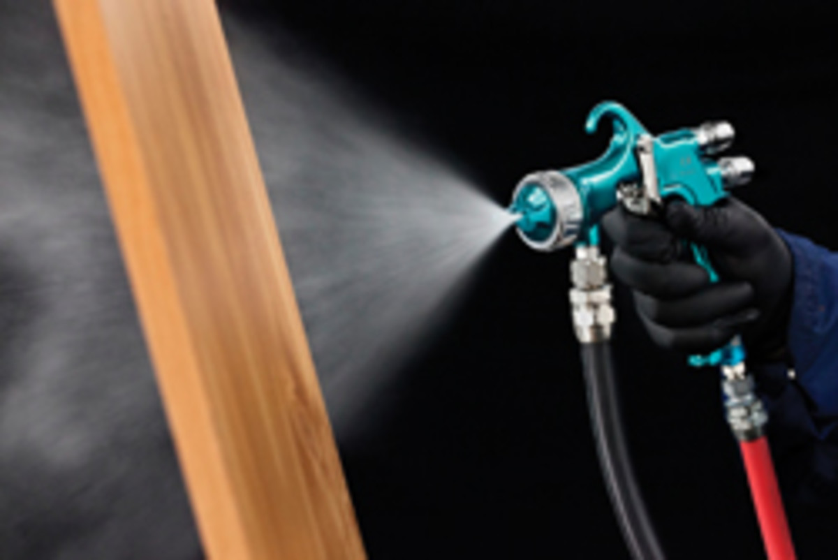 Two new air caps have been introduced for the Binks Trophy spray gun series, including the 39-H for HVLP.
