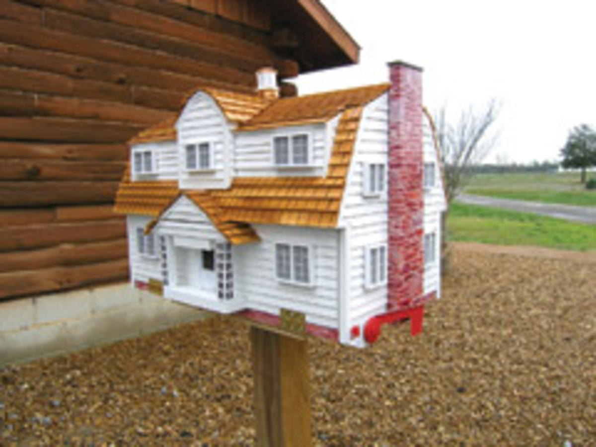 Custom mailboxes are big sellers for Morgan Home Accents.