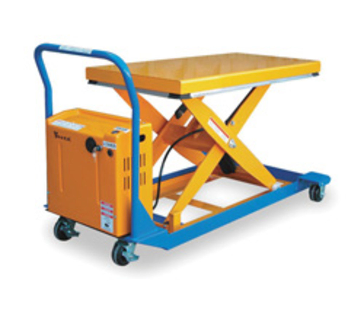 The Vestil lift, model 3EB99, available from Grainger.
