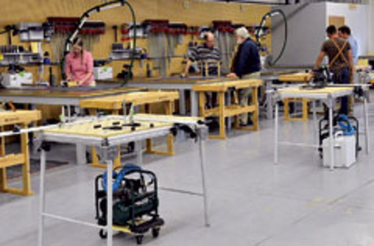 New Woodworking School Opens In Illinois Woodshop News