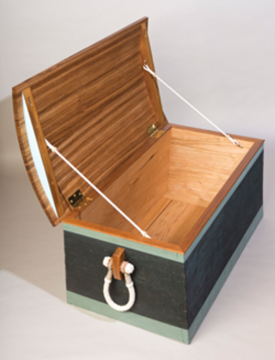 Sea chest by Maine's David Boyle.