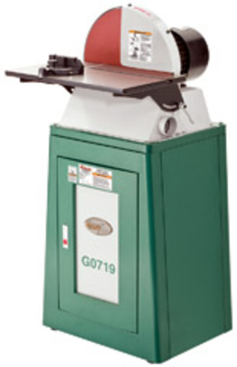"Grizzly's 15"" disc sander, model G0719."