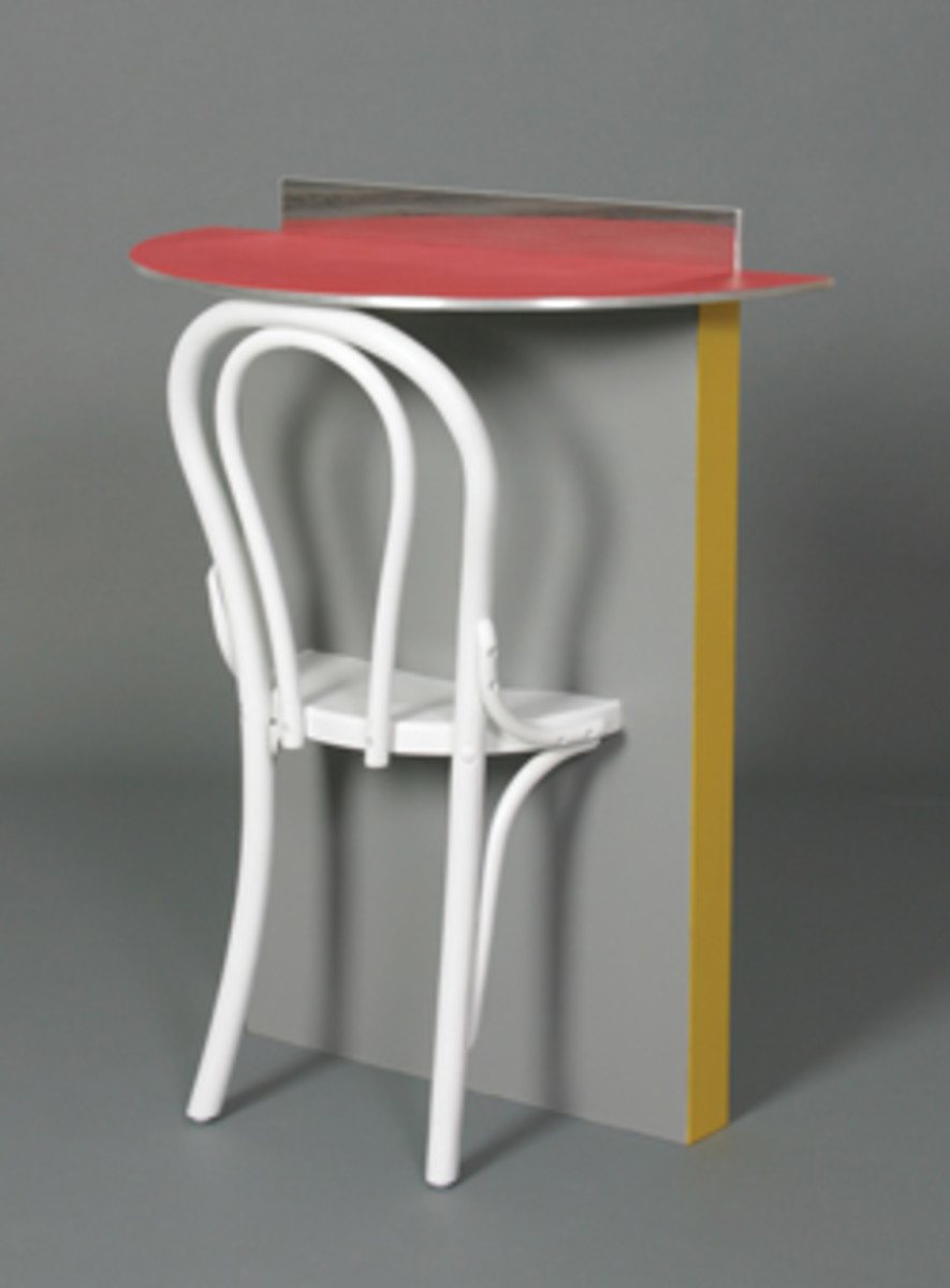 Bennett's hall table and chair.