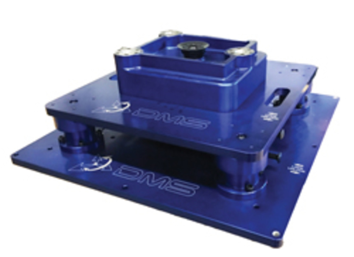 Diversified Machine Systems has developed a quick-change fixture that dramatically reduces the time required to swap out fixtures on its CNC machines.