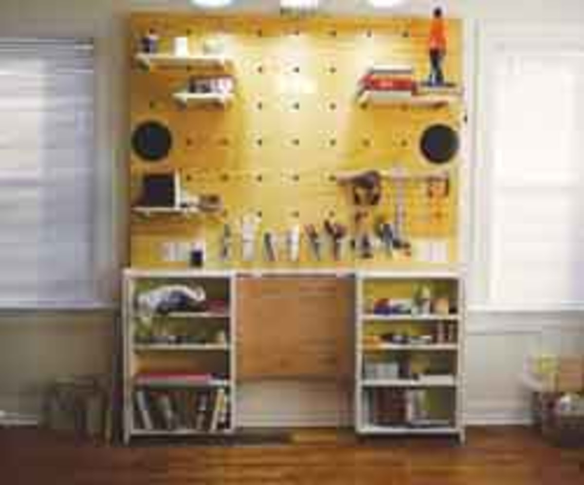 "A storage project won the ""Shelving"" contest."