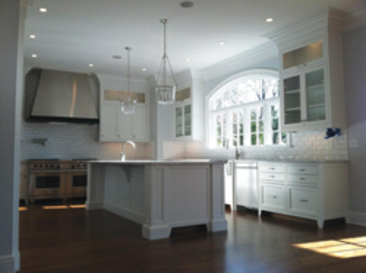 The shop's extensive portfolio includes this kitchen.