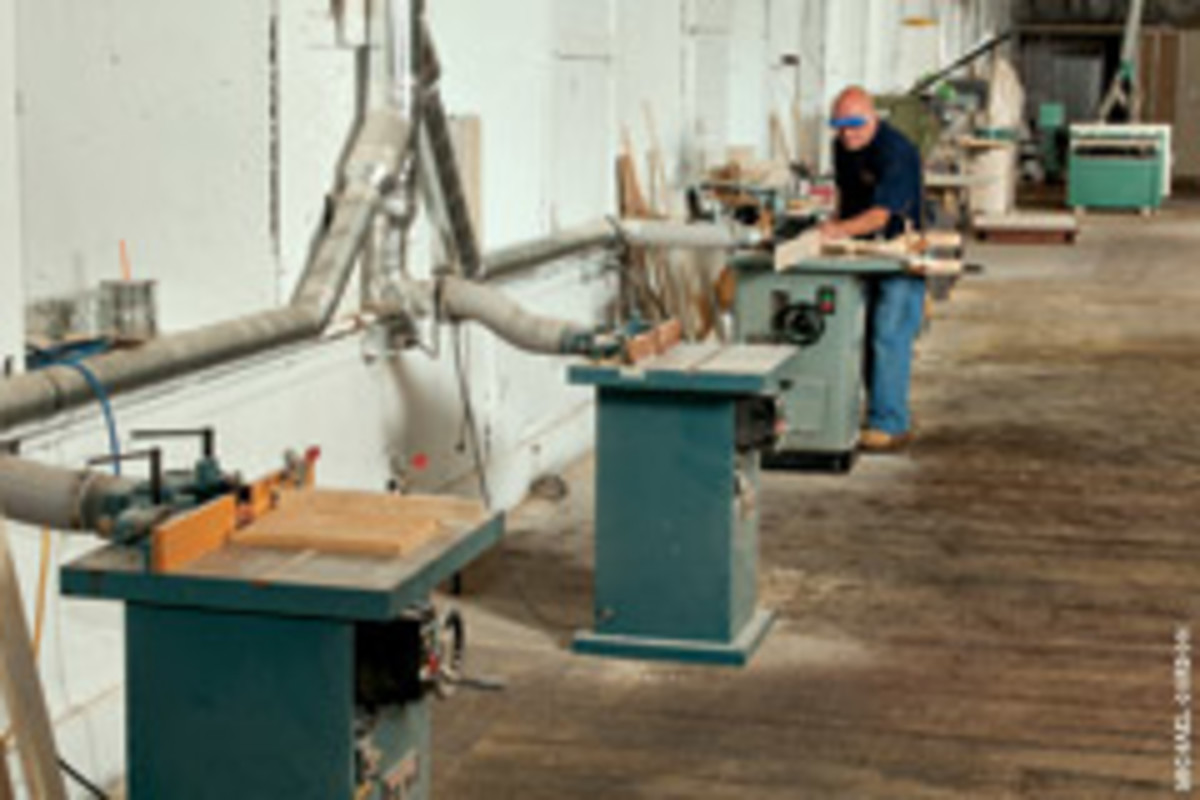 """There's no more """"banging into each other"""" at the new shop."""