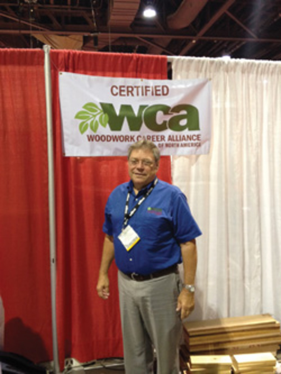Woodwork Career Alliance president Scott Nelson.