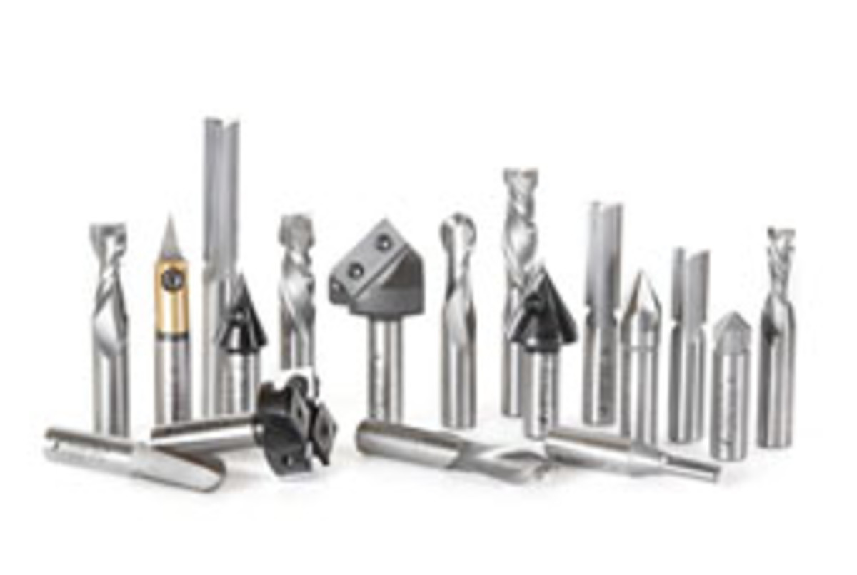 Among the more recent offerings from Amana is the AMS-139, which is an 18-piece general-purpose CNC router bit collection with ½-inch shanks