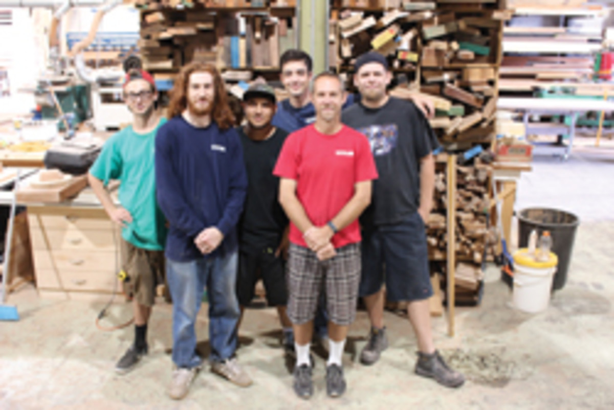 The Southside Woodshop crew.