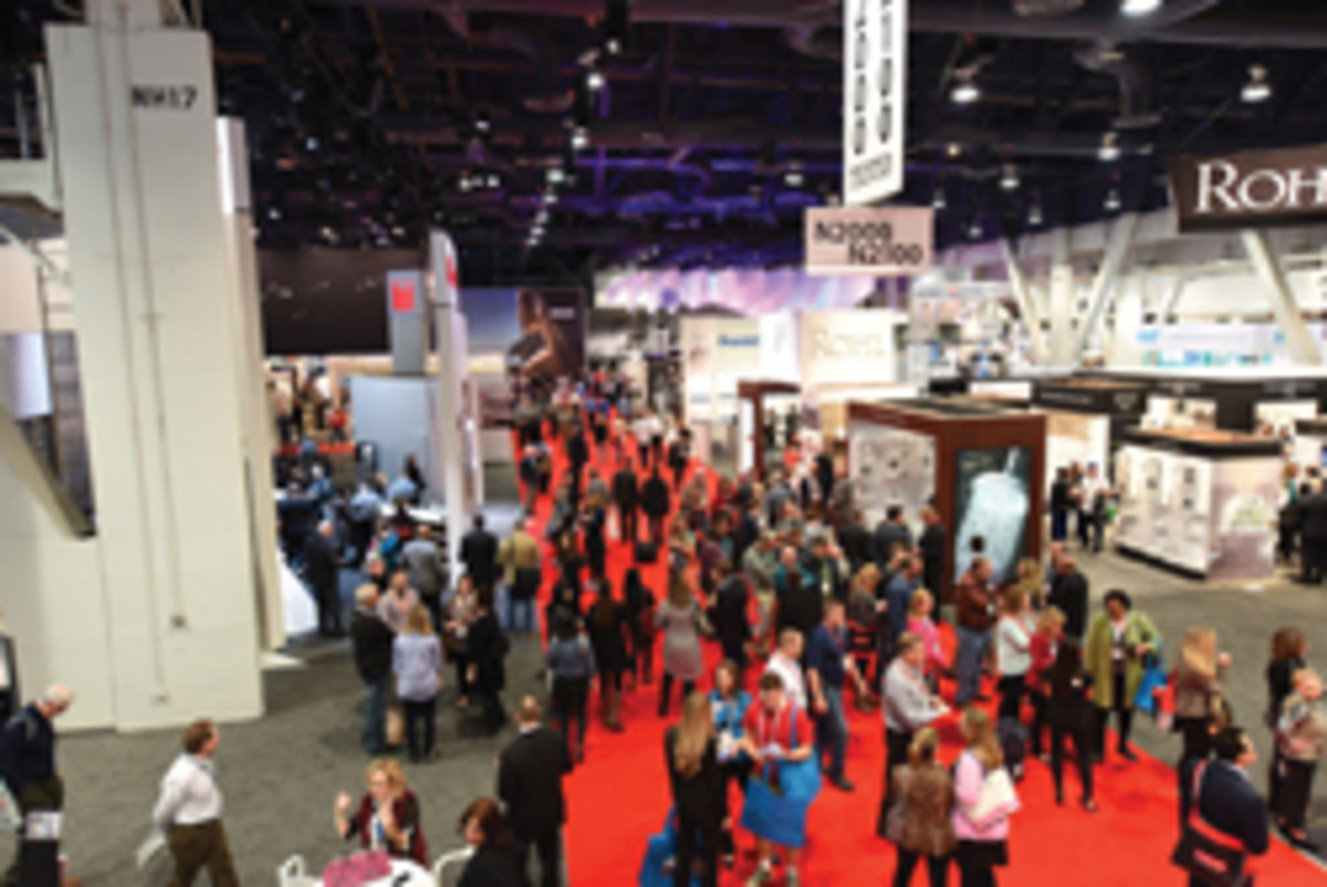 KBIS and IBS are held in Las Vegas with several other trade shows.