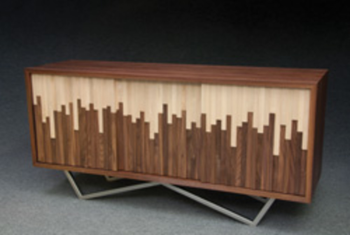 "Best in Show: Rosenberg's ""Wave Credenza."""