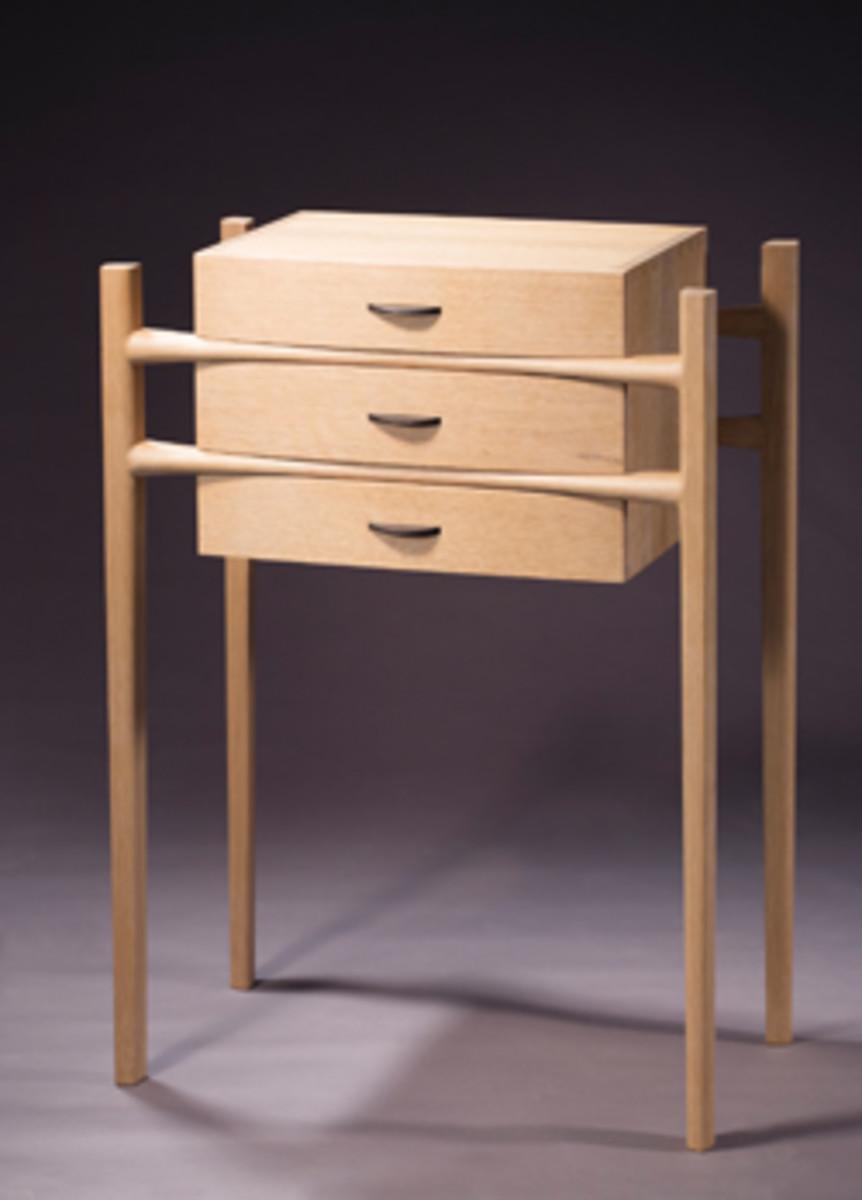 Carsten Oksen's oak cabinet.
