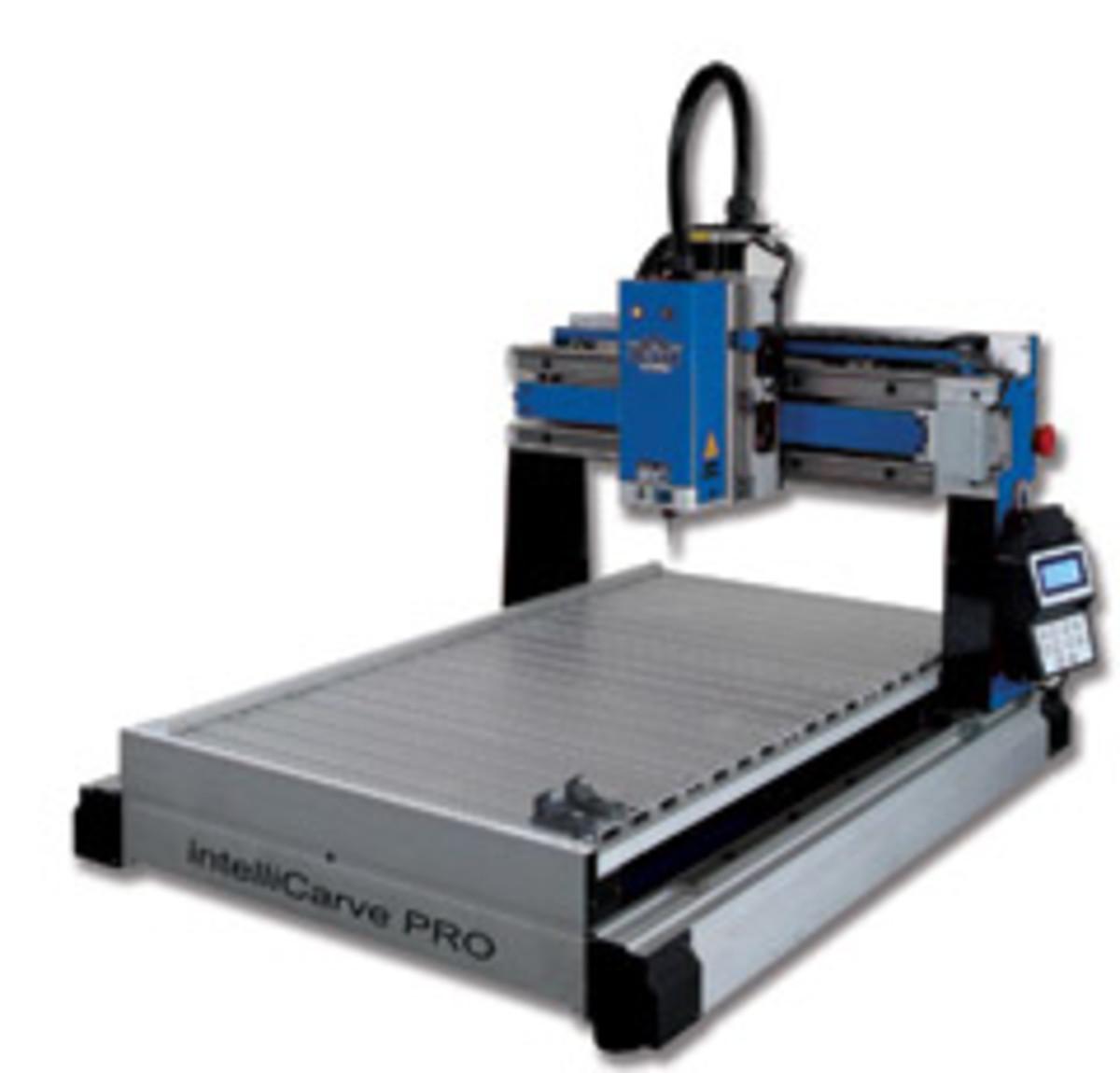 Oliver Machinery's model 1015 IntelliCarve.