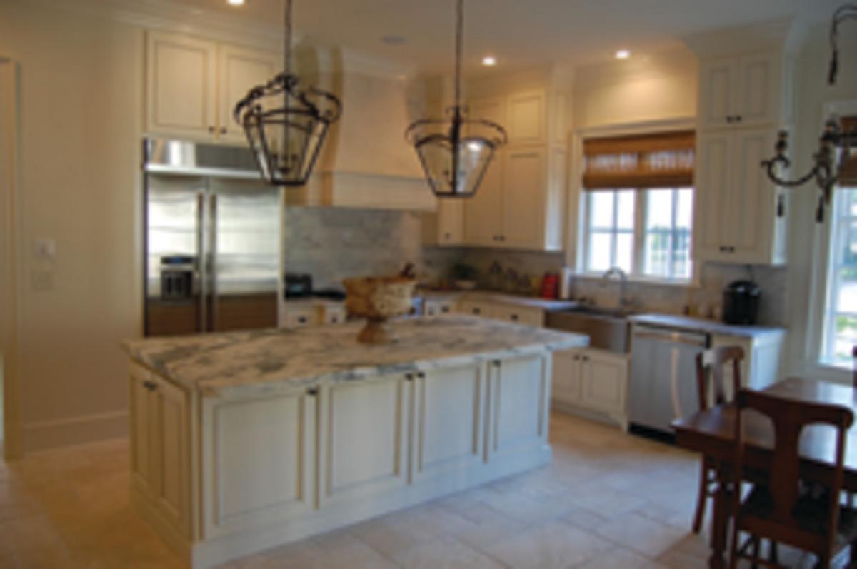 A recent kitchen from the shop's portfolio.