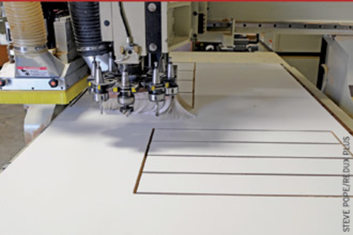 No coffee breaks for a CNC router. It just waits for the command to work.