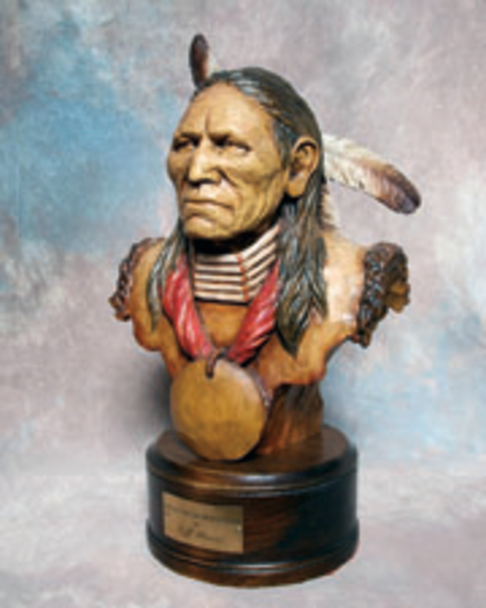 From busts to dioramas, the museum features work by more than 50 carvers.