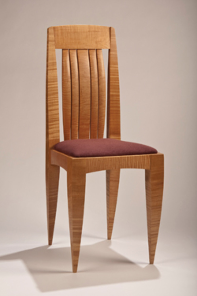 Scott Sober's dining chair.
