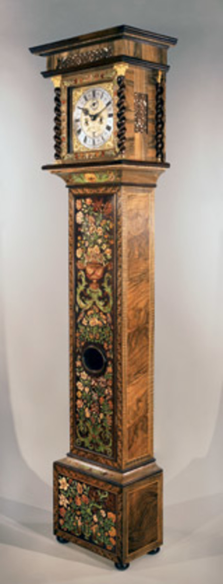 Edwards' portfolio includes re-creations of a Tompion clock.