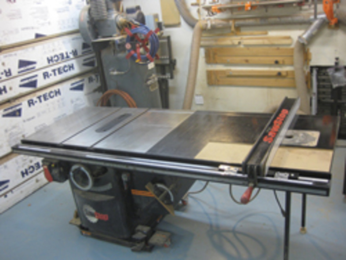 Chain of events leads to a new table saw setup woodshop news image placeholder title keyboard keysfo Image collections