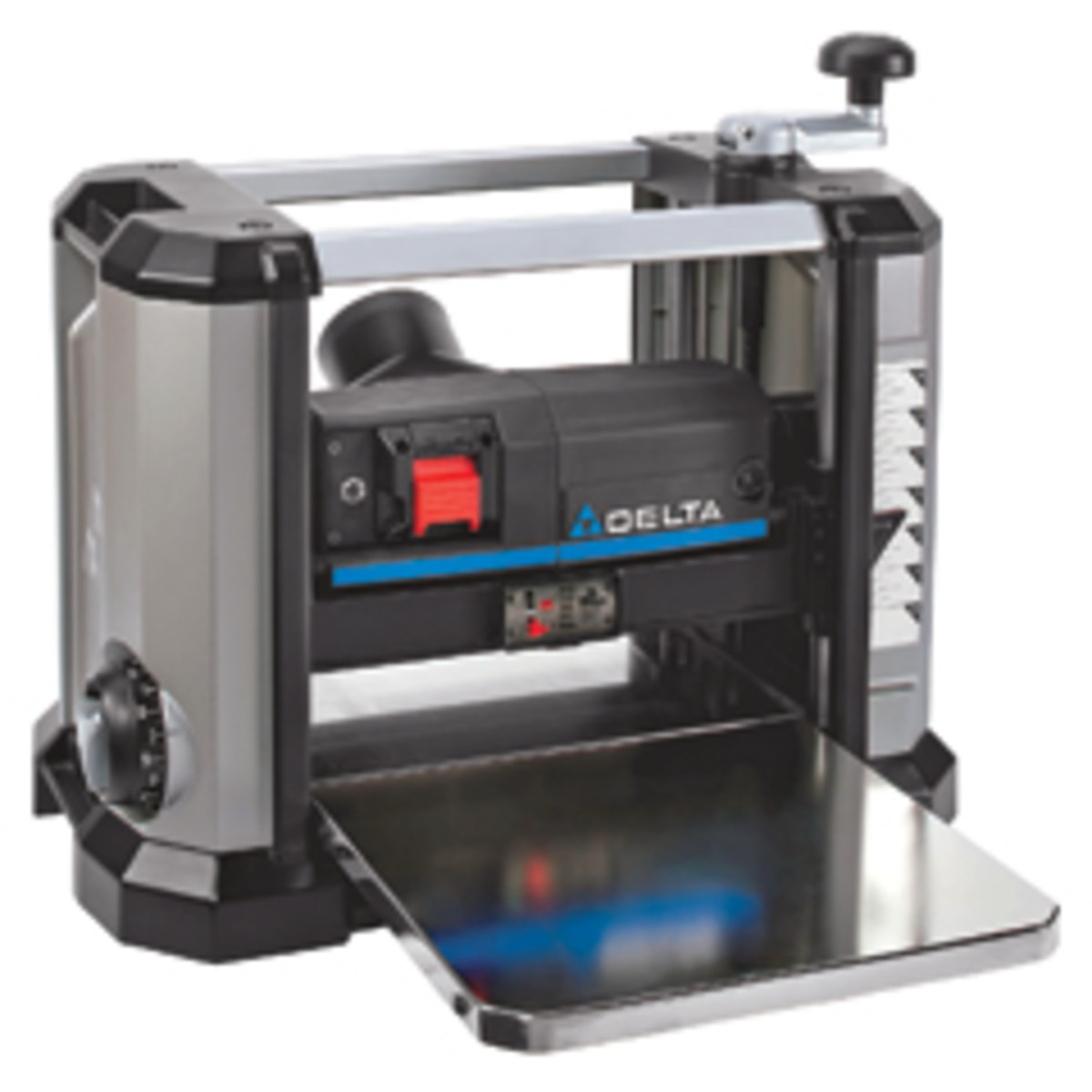 "Delta's new 13"" portable thickness planer, model 22-590."