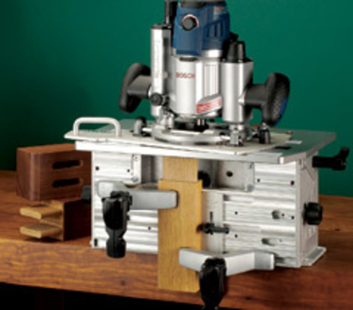 Leight Industries offers two mortise-and-tenon jigs, including the professional FMT Pro Model.