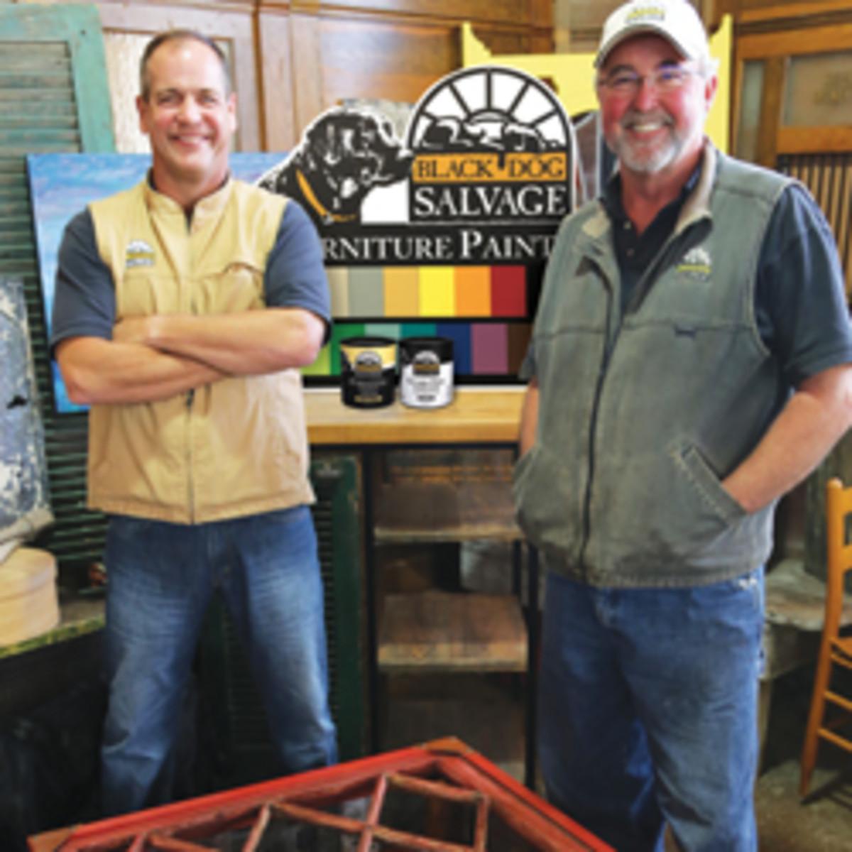 Salvage Dawgs Create Paint Woodshop News
