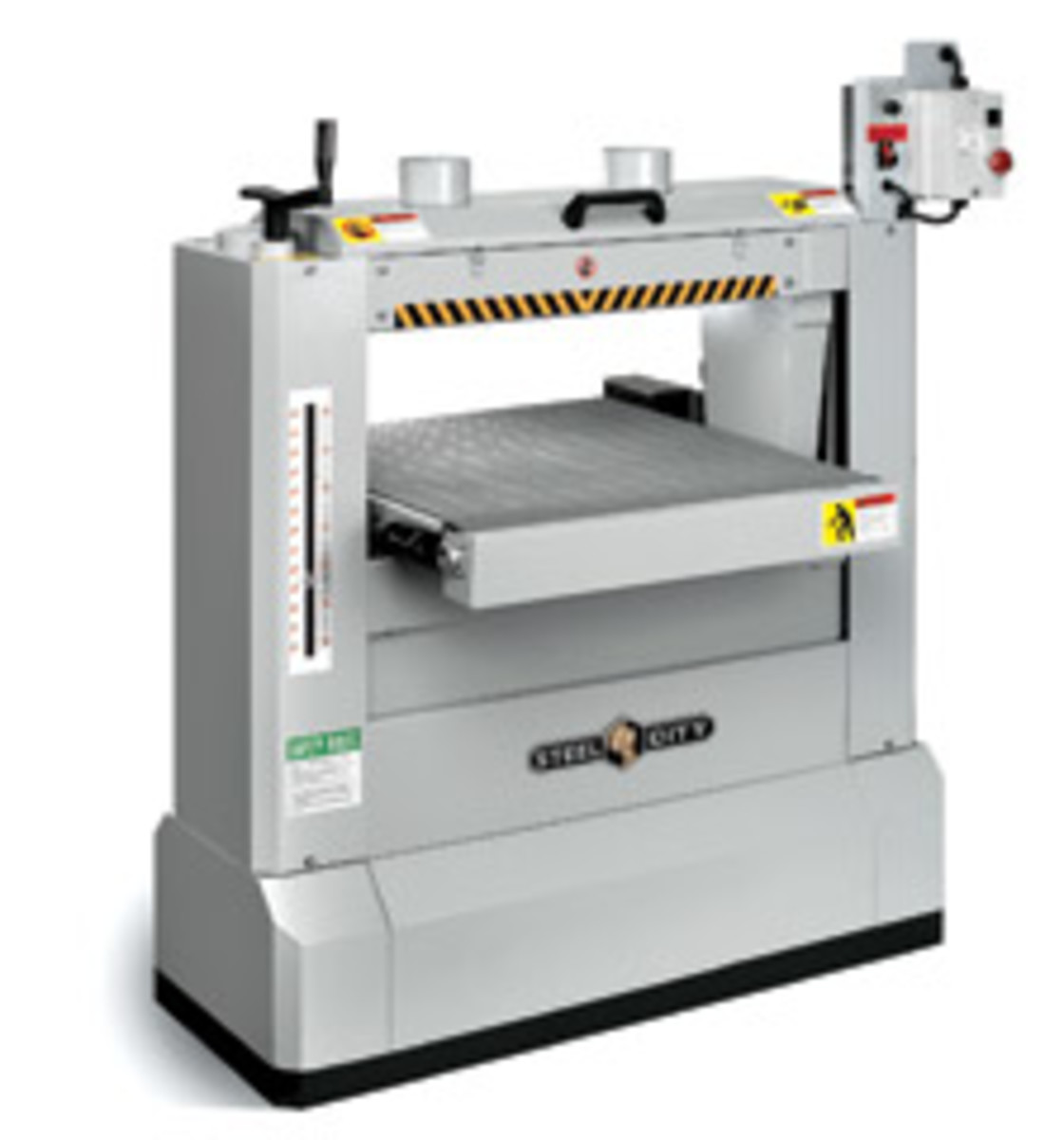 Steel City's model 55220-26 dual drum sander.