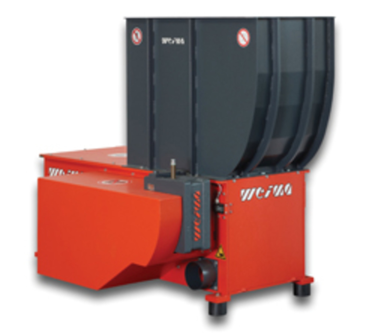 Weima's model WLK4 shredder.