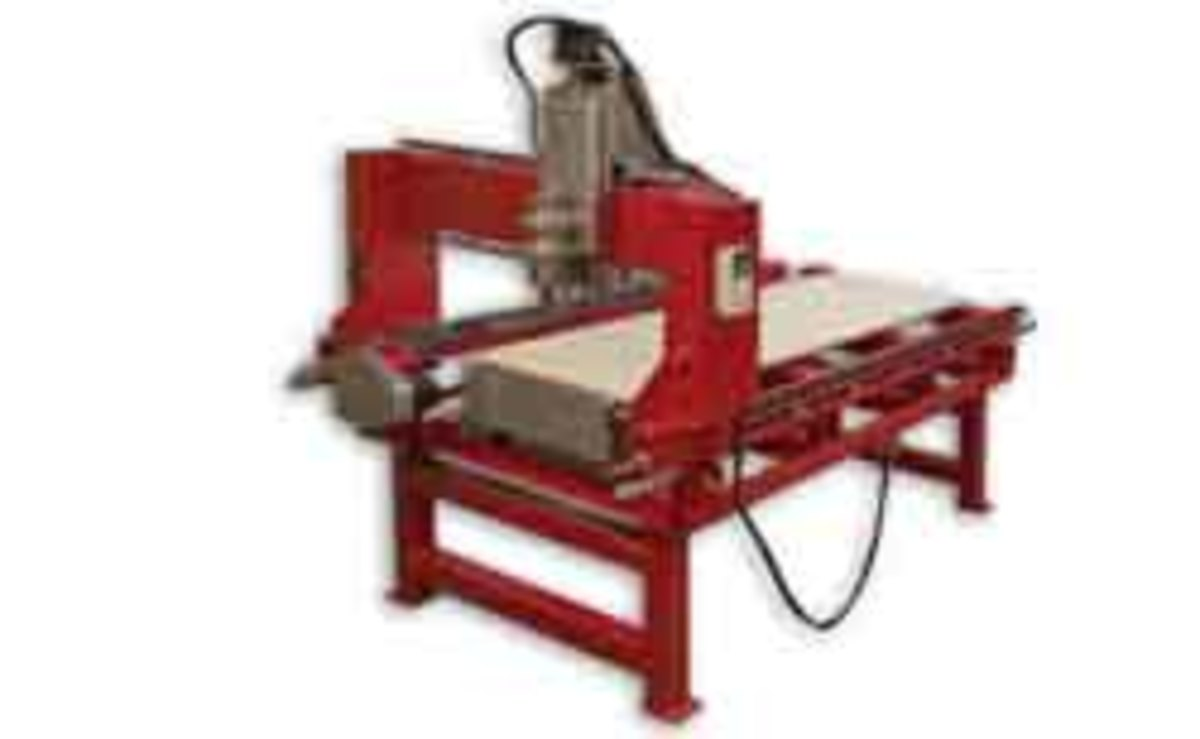 The Maverick isn't a typical CNC router.