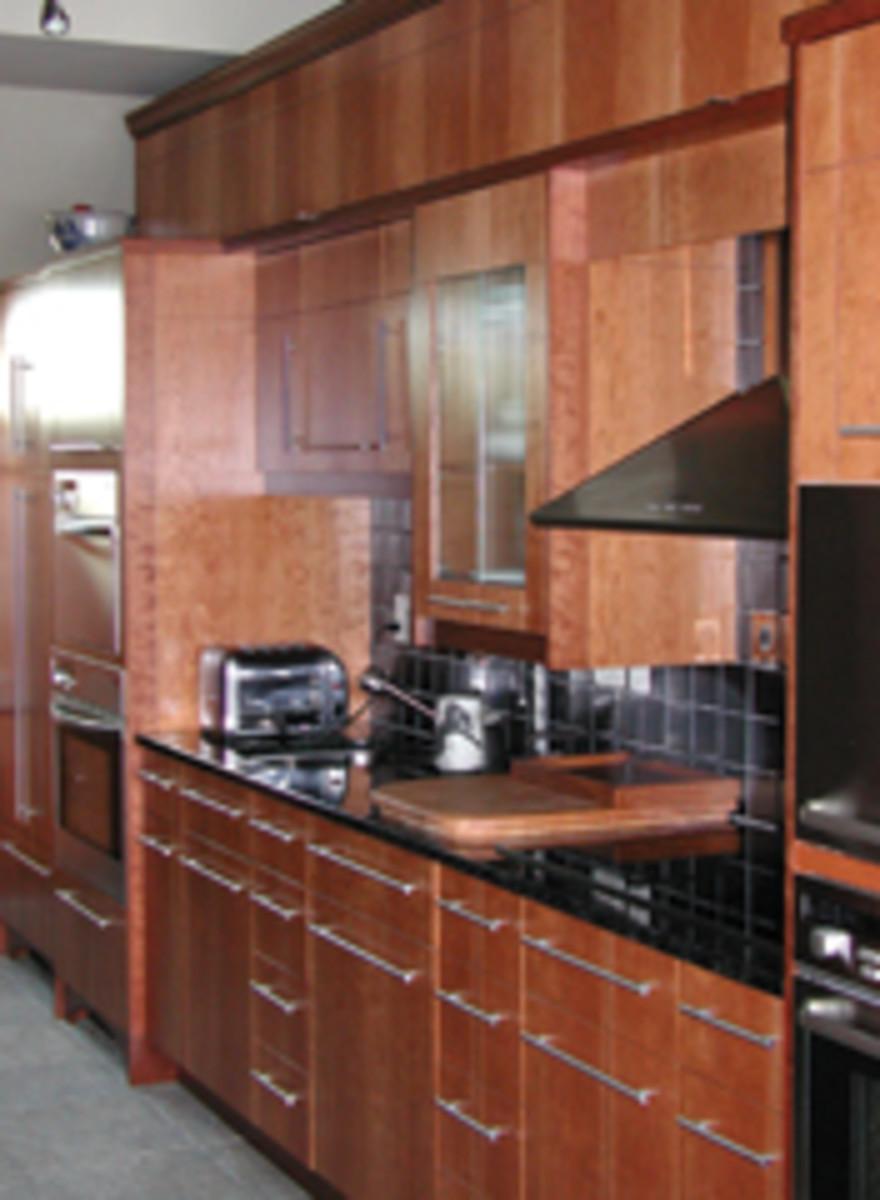 Oceanic Ventures' extensive portfolio includes this cherry kitchen range.