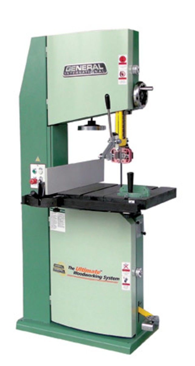 """General's new 18"""" band saw, model 90-290M1, sells for $2,999."""